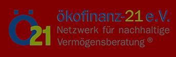 ökofinanz-21 e.V. - Netzwerk für nachhaltige Vermögensberatung
